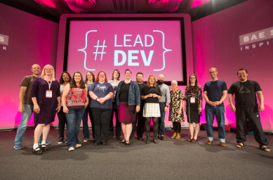 Speakers at The Lead Developer 2016 in London, UK. Photo by Katura Jensen.